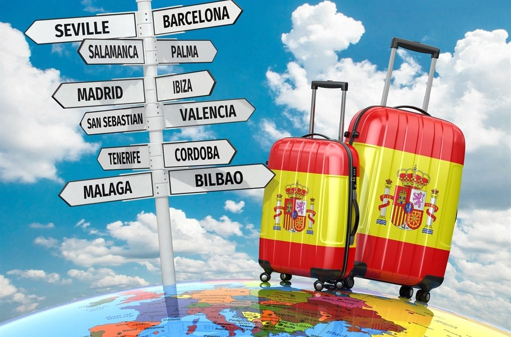 Where are buyers looking for property in Spain?