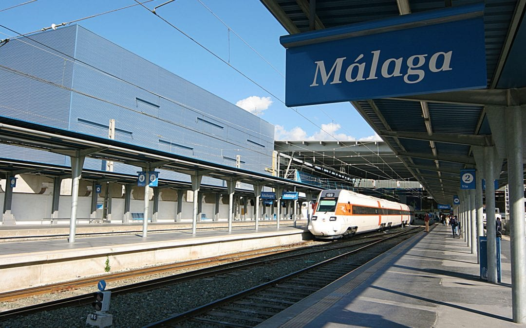 Ten years of high speed rail travel to Malaga