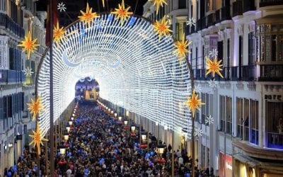 Malaga in December