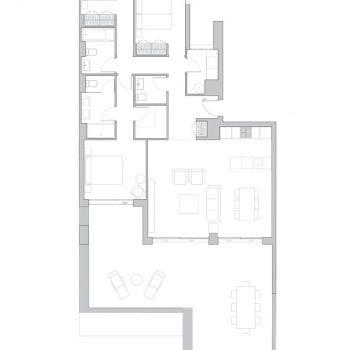 BUILDING 3. PENTHOUSE A