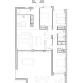 BUILDING 3. PENTHOUSE B