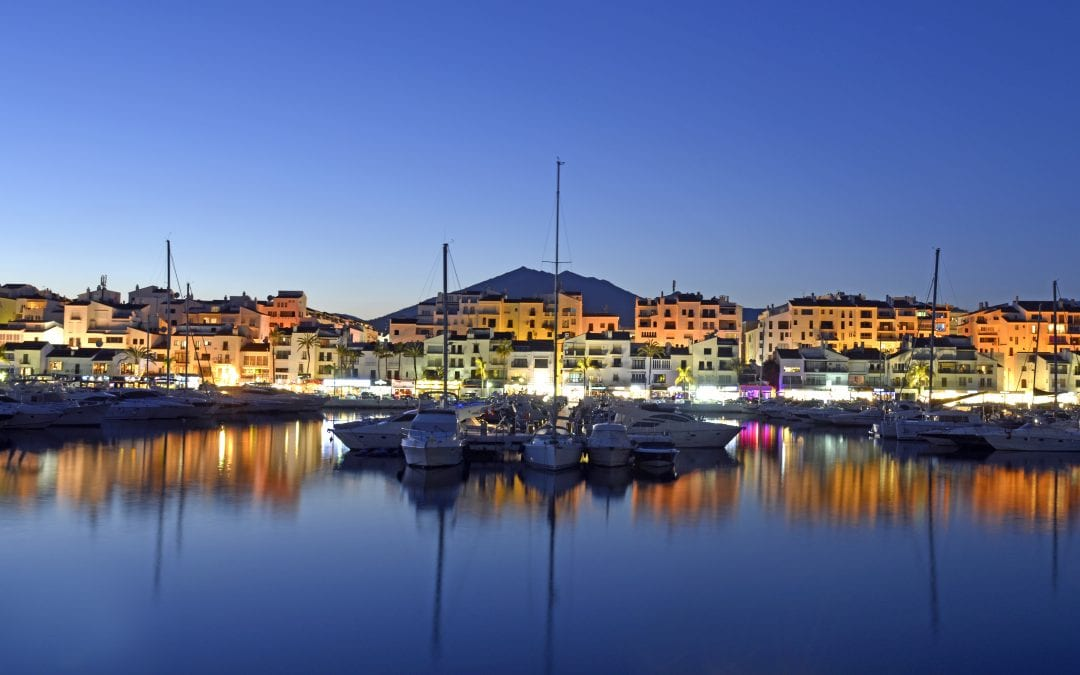 Beautiful marinas of the Costa del Sol