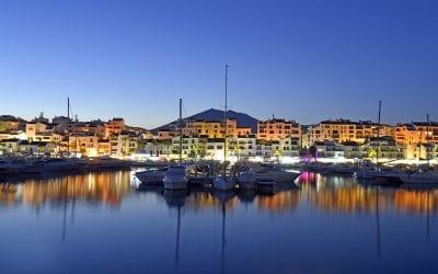 Beautiful marinas of the Costa del Sol