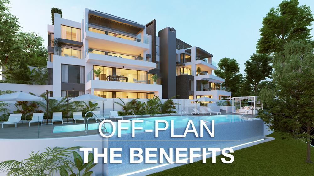 Benefits of buying off-plan property