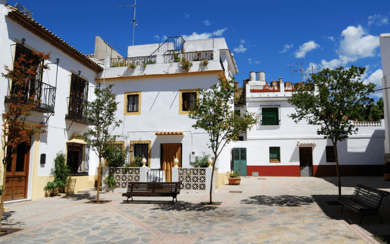 Example of townhouse in Marbella